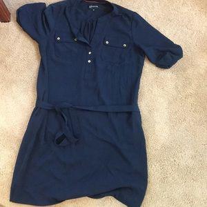 Navy Jones New York Shirtdress